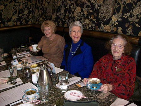 December Widows & Wives Luncheon at the Davenport Hotel