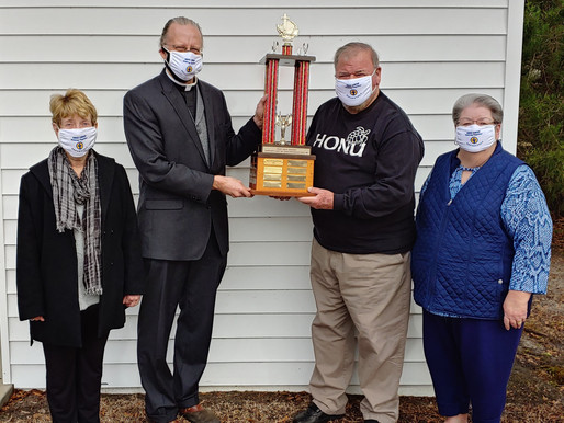 St. James Episcopal wins the CROP Trophy
