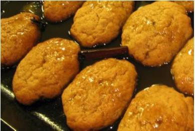 Greek Honey Cookies Jpg