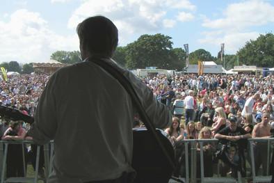 Steve O'Kane On Stage