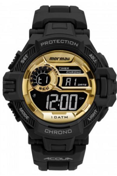 Relógio Mormaii Masculino Action Preto MO1134AC8D
