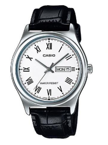 Relógio Masculino Casio Analógico Esportivo  - Collection MTP-V006L-1BUDF Preto