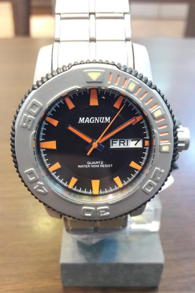 Relógio Masculino Magnum Ma33255j