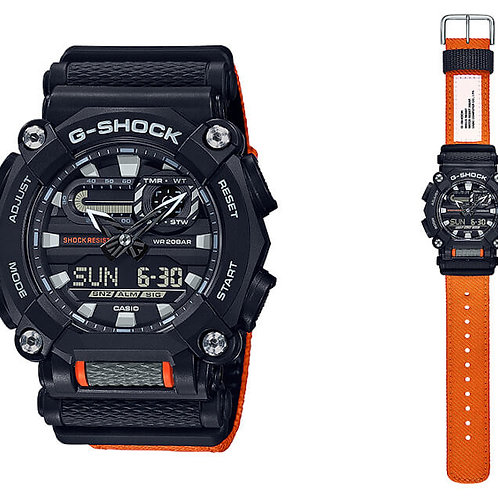 RELÓGIO CASIO MASCULINO G-Shock GA-900C-1A4DR