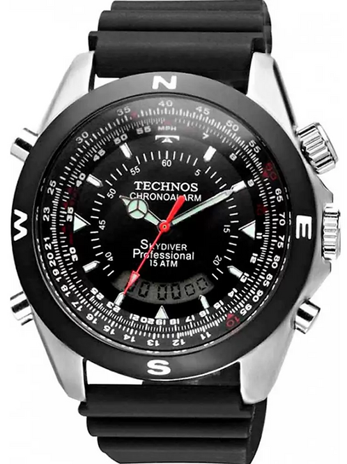 Relógio Analógico/Digital Masculino Technos T20561/8P