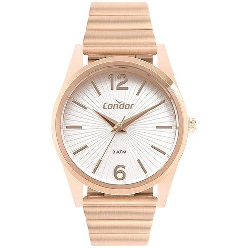 Relógio Condor Feminino Rosé Co2035muy/8j