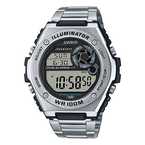 Relógio Masculino Casio Analógico Illuminator MWD-100HD-1AVDF