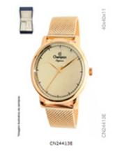 Relógio Feminino Champion CN24413E Rose com kit semijoias