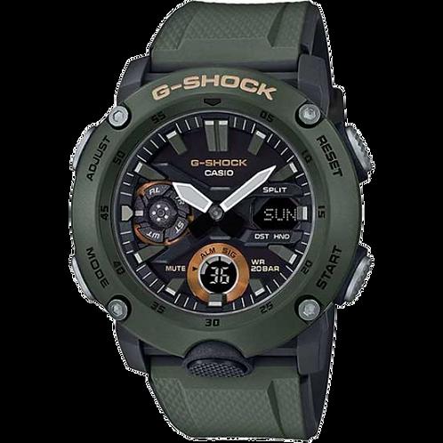 G-SHOCK MASCULINO Carbon Core Guard  GA-2000-3ADR