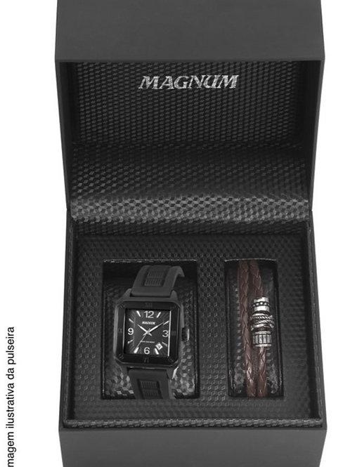 RELÓGIO MAGNUM MASCULINO COM PULSEIRA MA31917C