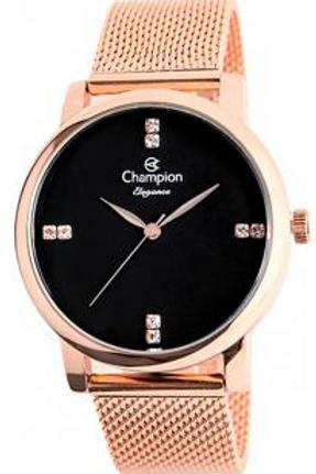 Relógio Feminino Champion Analógico Elegance - CN24388P Rose