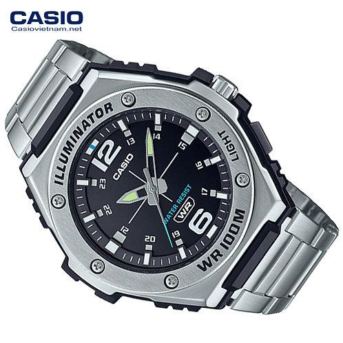 Relógio Masculino Casio Standard Analógico Prata MWA-100HD-1AVDF
