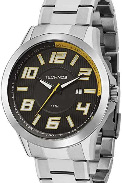 Relógio Technos Masculino Racer Prata 2115KNE1Y