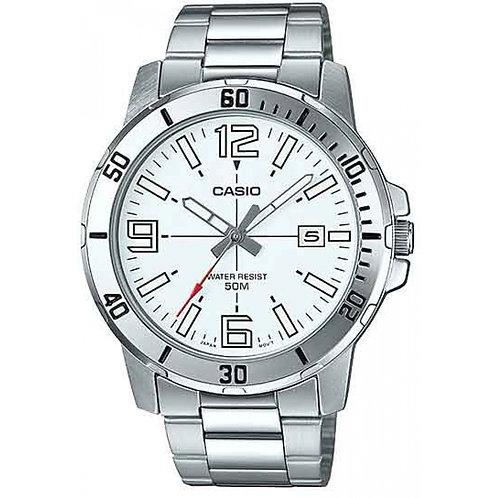 Relógio Masculino Casio Analógico Collection - MTP-VD01D-7BVUDF Prata