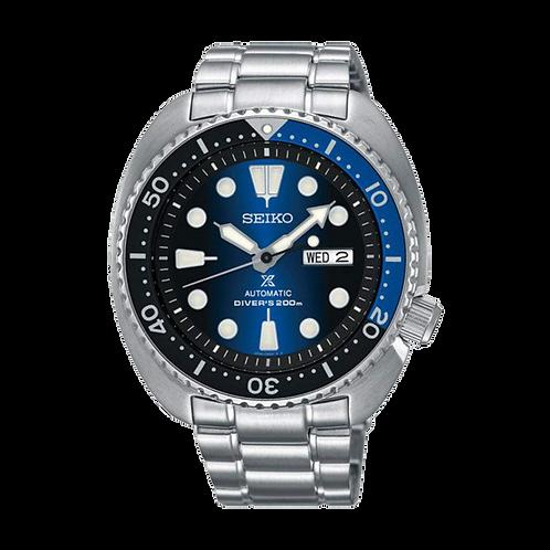 Relógio Seiko Prospex Automático Turtle Deep Blue - SRPC25B1 D1SX