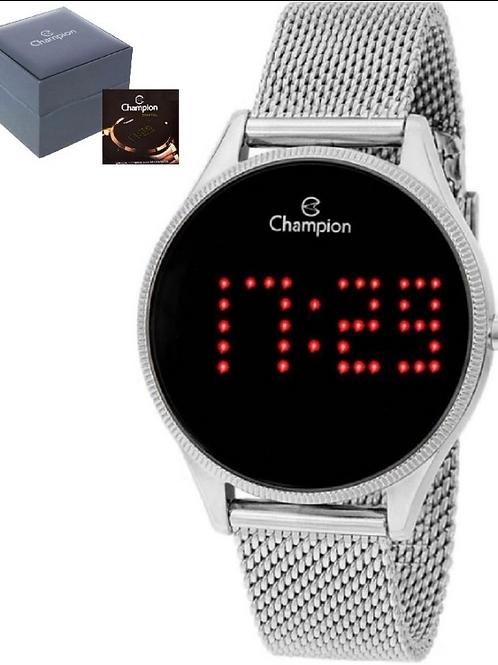 Relógio Feminino Champion Digital - CH40026T Prata