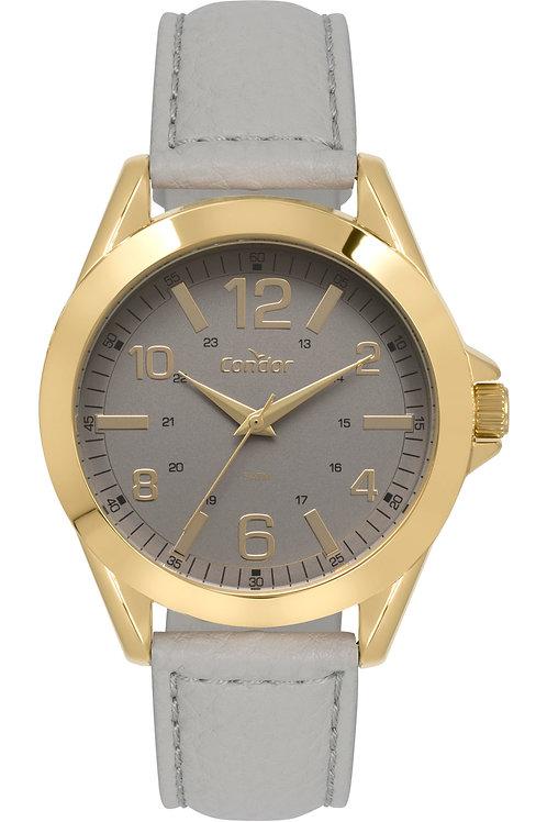 Relógio Condor Feminino Ref: Co2035kyn/2c Casual Dourado