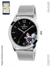 Conjunto Relógio Champion CN20757I + Semijoias