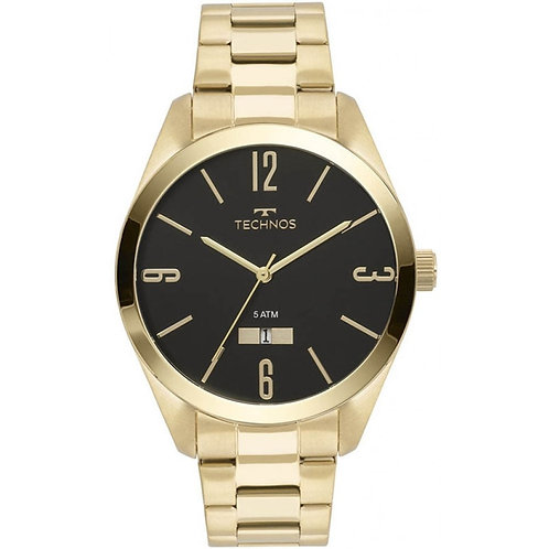 Relógio Technos Masculino Dourado 2115MNW/4P