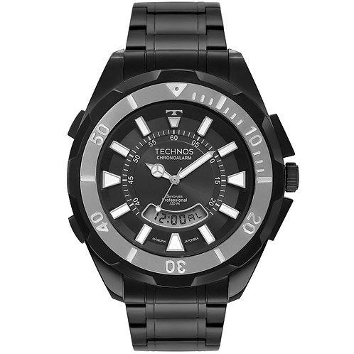 Relógio Technos Masculino Skydiver Sport Preto T205JN/4P