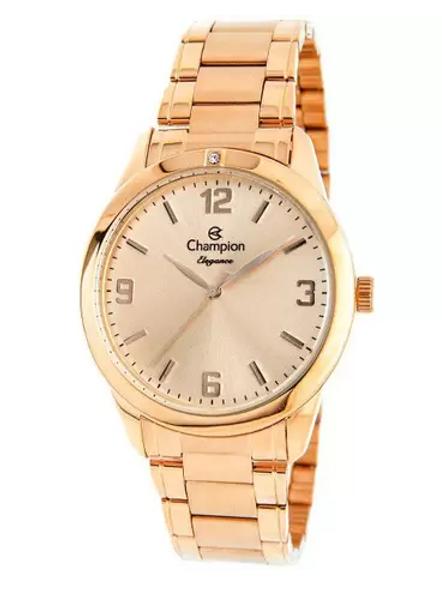 Relógio Feminino Champion Analógico Elegance - CN26859Z Rosê