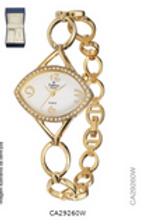 Relógio Feminino Champion CA29260W Analógico Com Kit De Joias Pulseira De Aço Do
