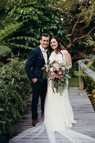 Megan & Jason Wedding - Rainforest Gardens, Mt Cotton