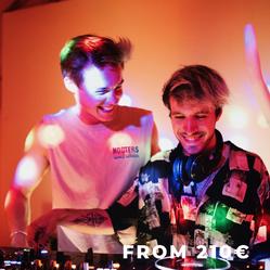 Dancing to electronic with virtual DJ
