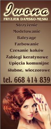 More Salonik Fryzjerski Iwona Został Otwarty Na Początku Marca