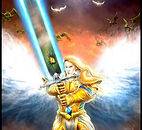 A Ordem dos Cavaleiros da Espada retorna para salvar aTerra dos seres reptilianos!