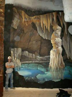 Luray Cavern Mural