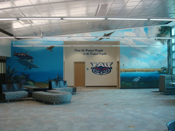 FAU Engineering East Mural
