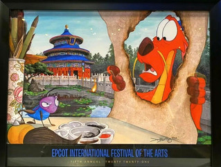EPCOT Festival of the Arts 2021 Big Surprise!