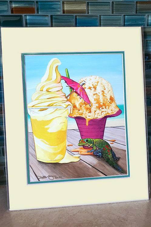 Brain Freezes and Summer Breezes Petite Print