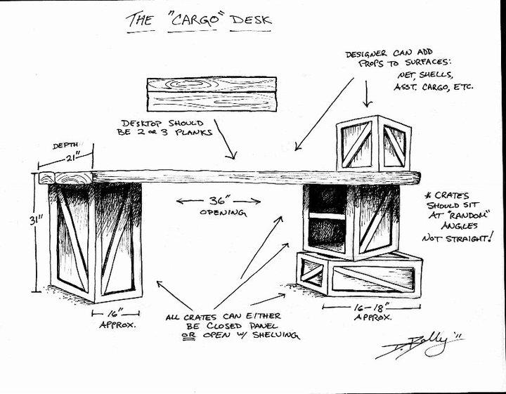 Concept Art / Cargo Desk