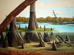 Cypress Swamp Mural