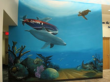 FAU Engineering Mural by Doug Bolly