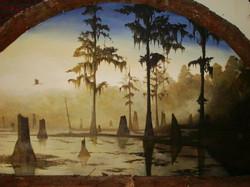 Achafalaya Swamp Mural