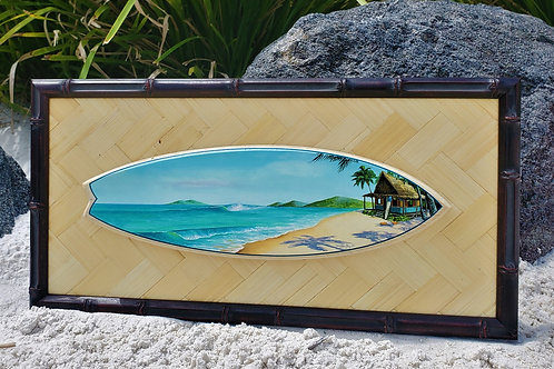 A Hui Hou Surfboard (Bamboo Frame)