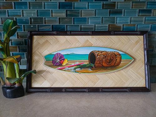 Mai Tai, Your Tai Surfboard (Bamboo Frame)