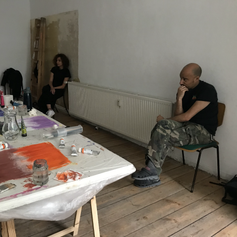 Intuitive colorfield painting workshop