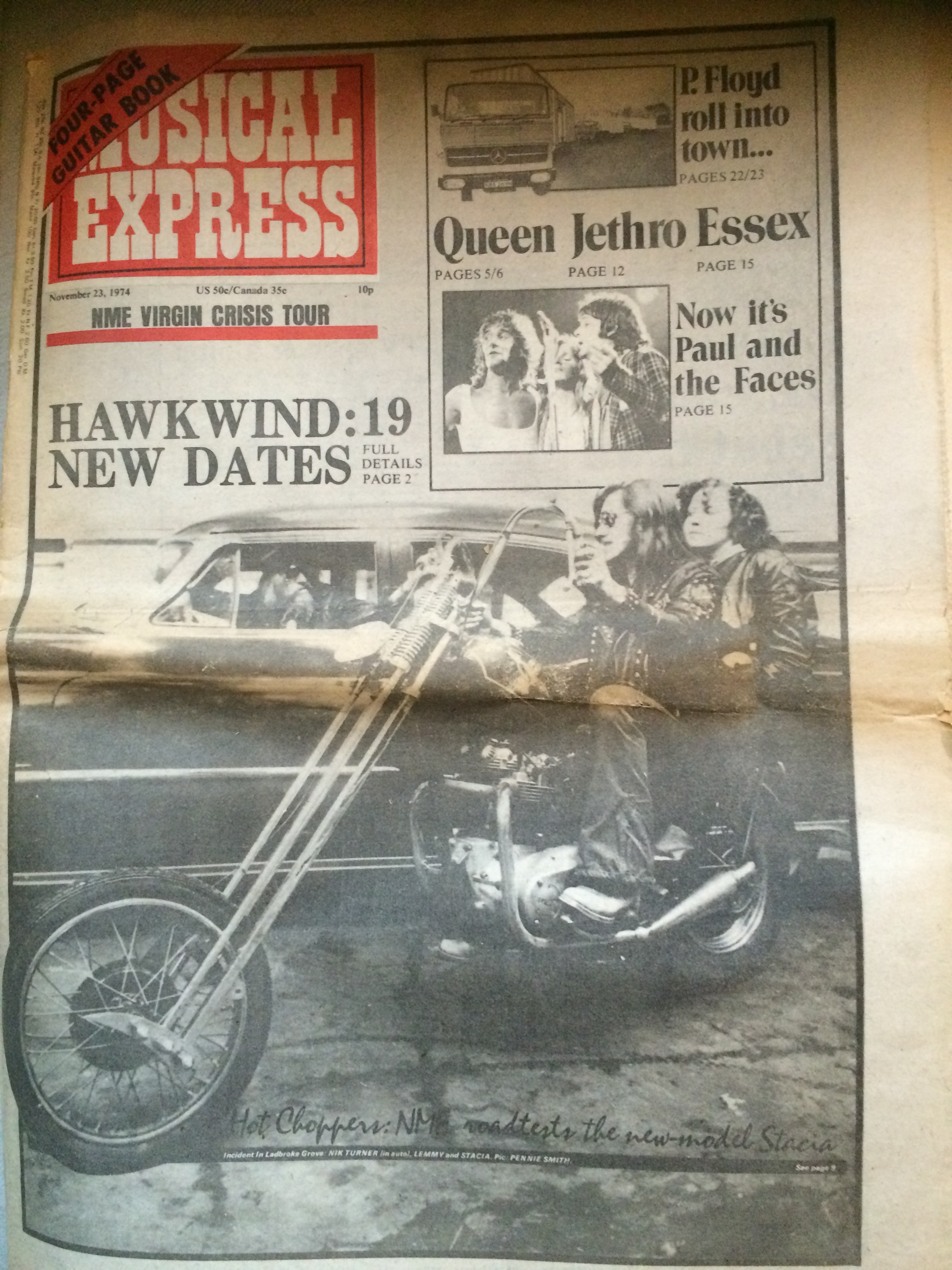 NME - 23.11.74