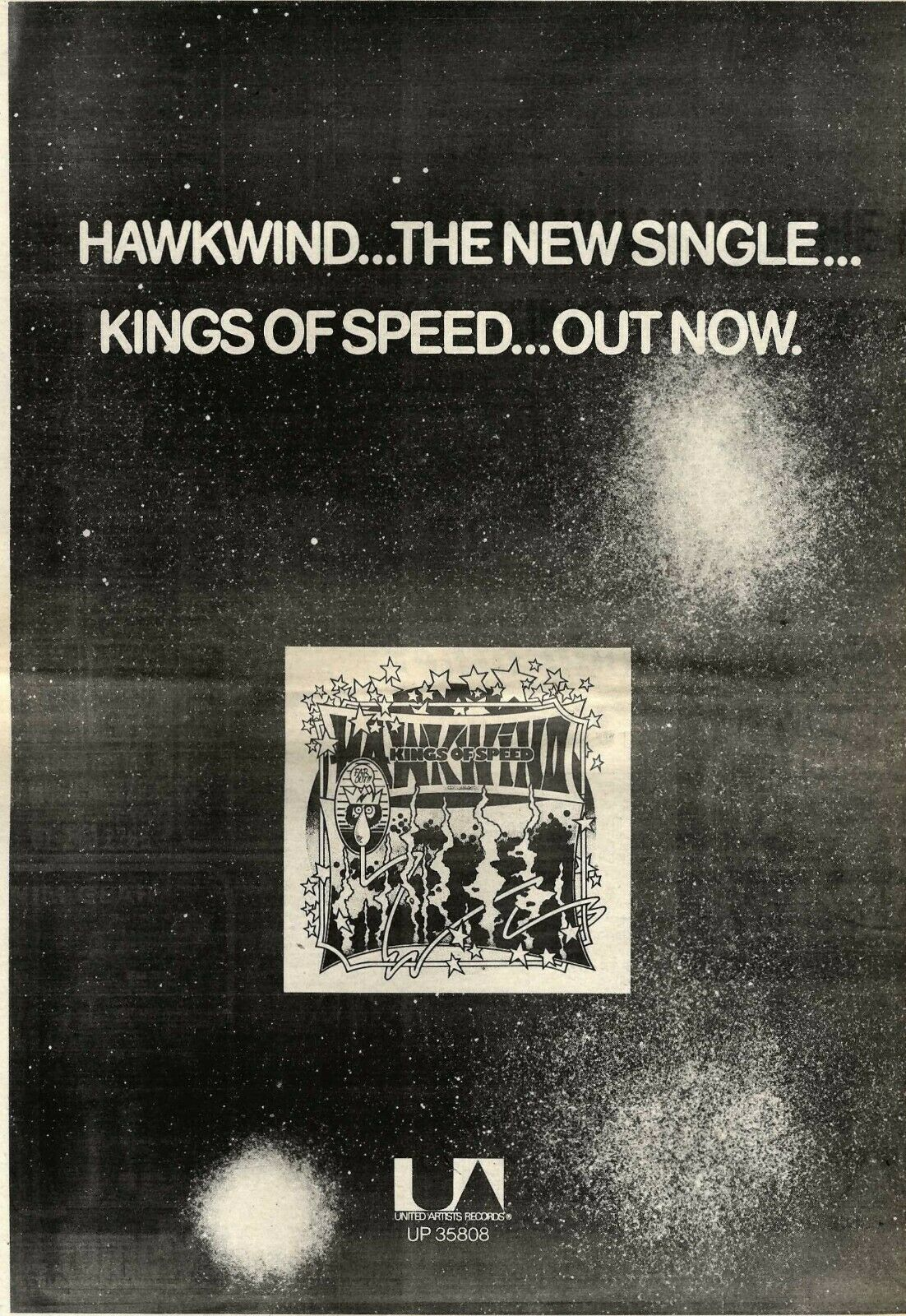 Kings Of Speed UK press ad 1