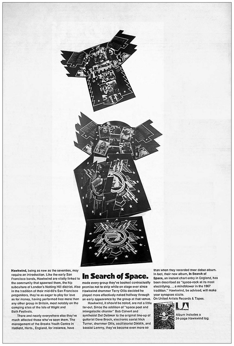 In Search Of Space US press ad v1