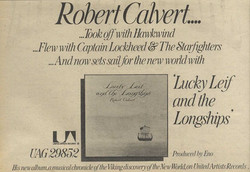 Lucky Leif UK press ad