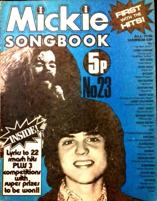 Mickie Songbook - 09.73