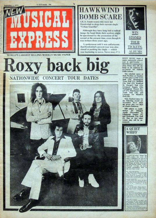 NME - 01.09.73