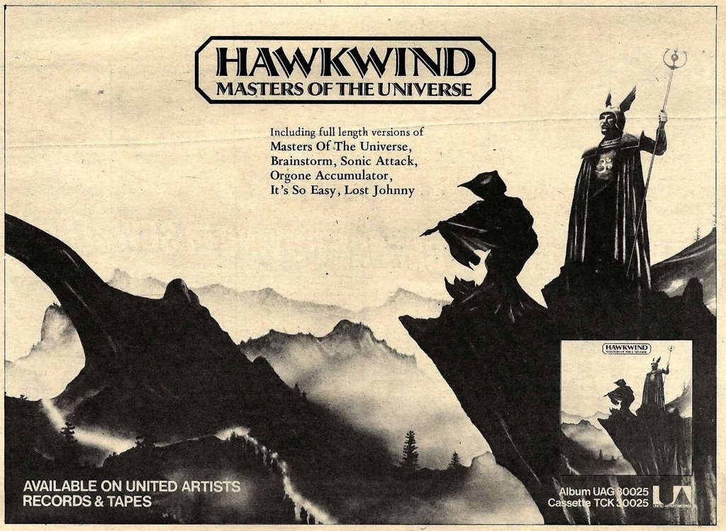 MOTU UK press ad