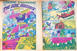 In Search Of Space - Frendz comic strip ad