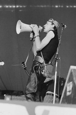 Cardiff Castle, 24 July 1976 - Michael Putland